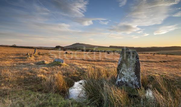 Fernacre Stone Circle Stock photo © flotsom