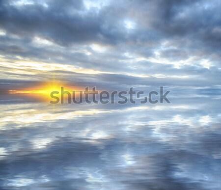 Sunset Reflections Stock photo © flotsom
