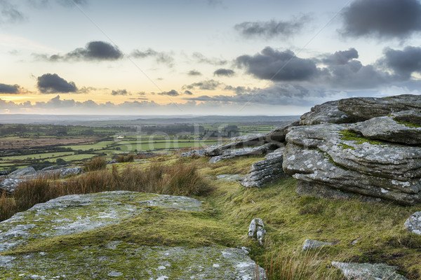 Dusk on the Moors Stock photo © flotsom