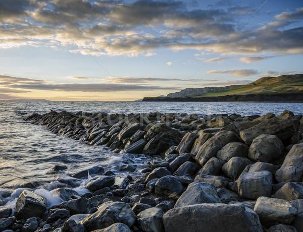 Kimmeridge Bay - Dorset Stock photo © flotsom