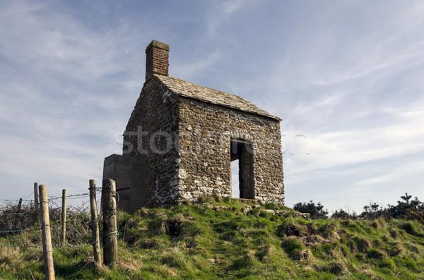 Vieux maison bâtiment Angleterre Photo stock © flotsom