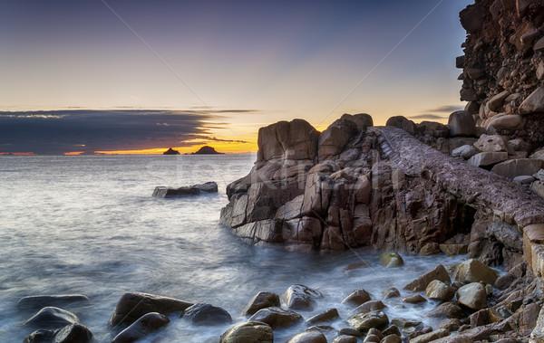 Sunset Beach Stock photo © flotsom