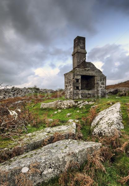 Ruins at Dusk Stock photo © flotsom
