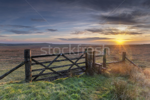 Gateway To The Moors Stock photo © flotsom