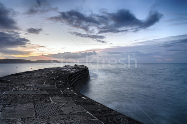 The Cobb at Lyme Regis Stock photo © flotsom