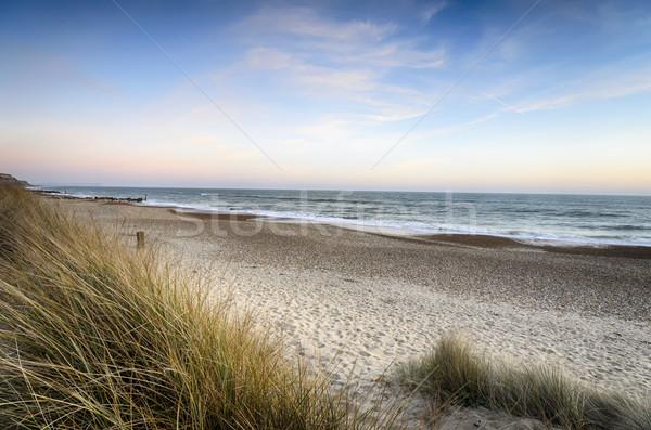 Sunset at the Beach Stock photo © flotsom