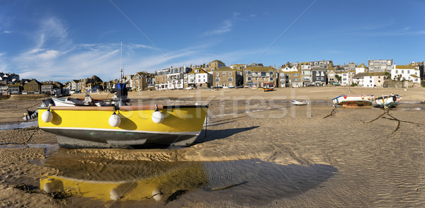 Fishing Boats on Beach Stock photo © flotsom