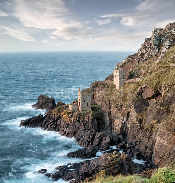 Cornish Tin Mines Stock photo © flotsom