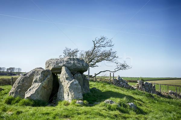 природы пейзаж каменные религии серьезную Англии Сток-фото © flotsom