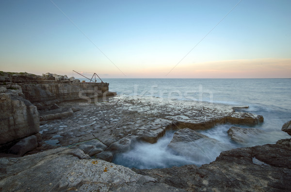 Rocky Ledges and Cliffs at Portland Bill Stock photo © flotsom