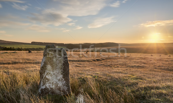 Fernacre Stone Circle Stock photo © flotsom