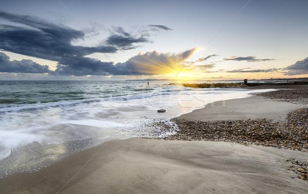 Solent Beach Stock photo © flotsom