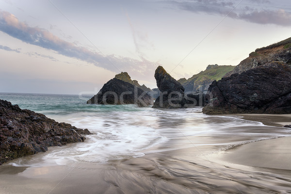The Beach at Kynance Cove Stock photo © flotsom