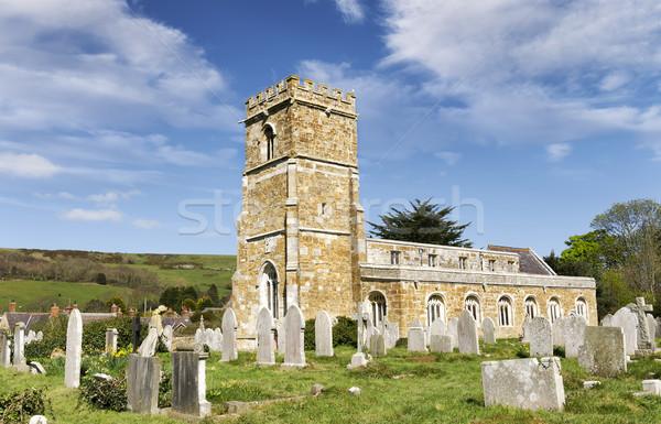 Abbotsbury Church Stock photo © flotsom