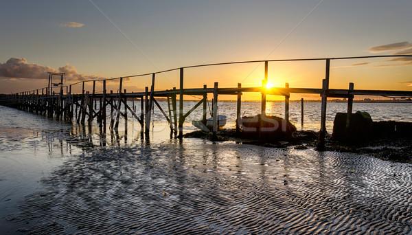 Sandbanks in Dorset Stock photo © flotsom