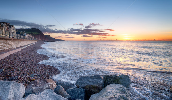 Sidmouth Seafront Stock photo © flotsom