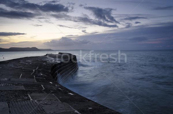 The Cobb at Lyme Regis Stock photo © flotsom