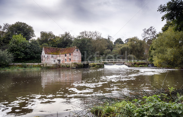 Watermill at Sturmninster Newton Stock photo © flotsom