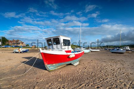 Fishing Boats on the Beach Stock photo © flotsom