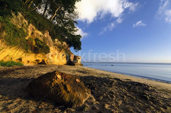 юг пляж морем войны песок конкретные Сток-фото © flotsom