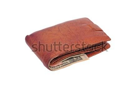 çanta para beyaz arka plan alışveriş Stok fotoğraf © fogen