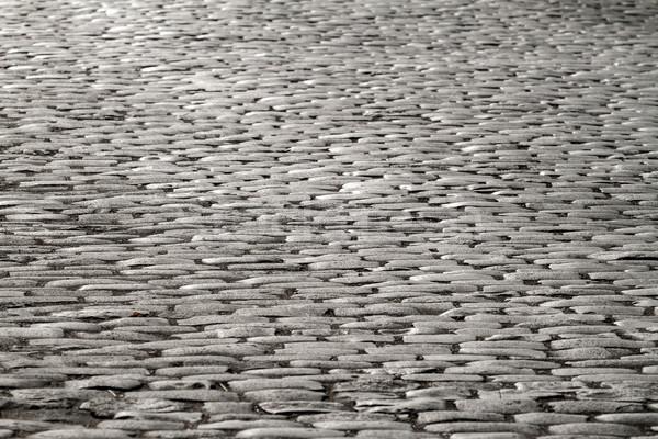 światło księżyca starych kamienie streszczenie drogowego Zdjęcia stock © fogen
