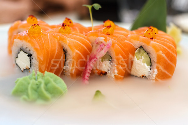 sushi chilled close-up Stock photo © fogen
