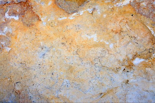 Tarka mészkő felület textúra közelkép tégla Stock fotó © fogen