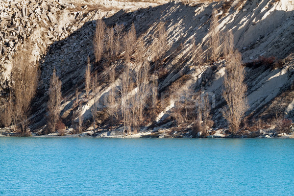 озеро бирюзовый цвета старые природы синий Сток-фото © fogen