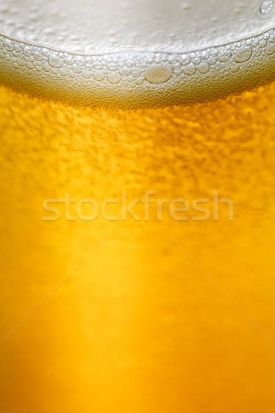 Napój bezalkoholowy gazu pęcherzyki powierzchnia pić Zdjęcia stock © fogen