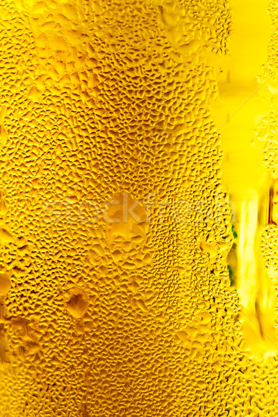glass of cold beer Stock photo © fogen