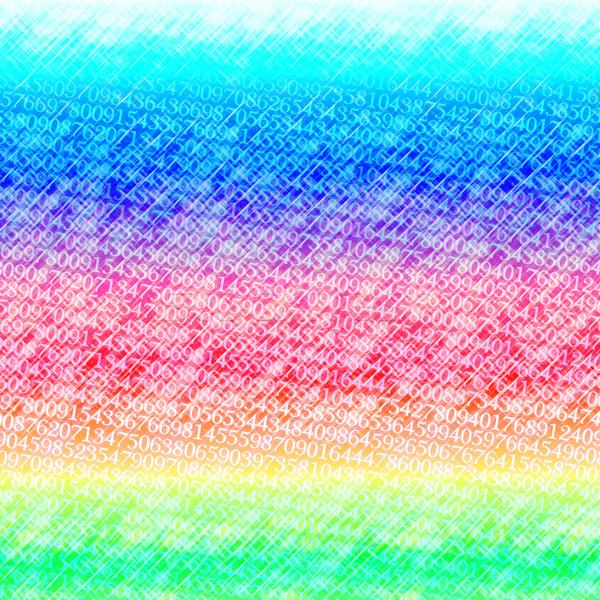 Abstract kleurrijk nummers voorjaar licht achtergrond Stockfoto © fogen