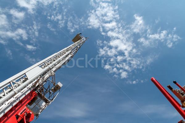 Sliding fire escape Stock photo © fogen