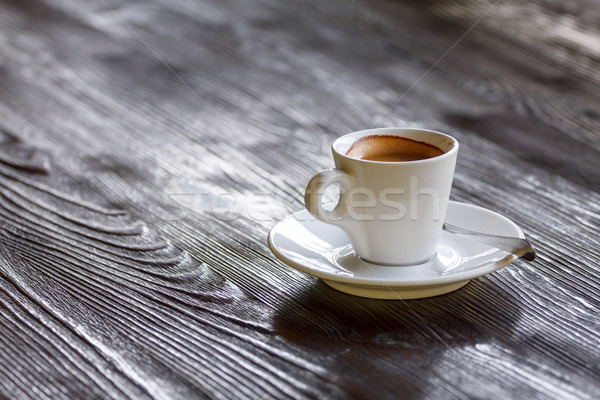 Coffee Mug on Wooden Table Stock photo © fogen