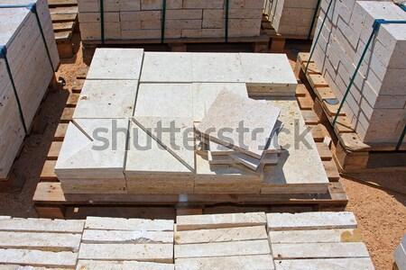 Limestone blocks Stock photo © fogen
