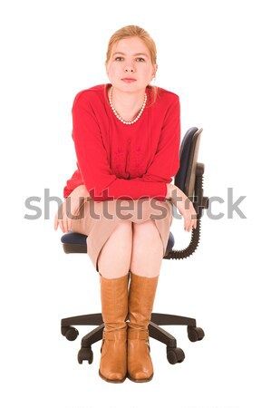 Middle aged businesswoman Stock photo © Forgiss