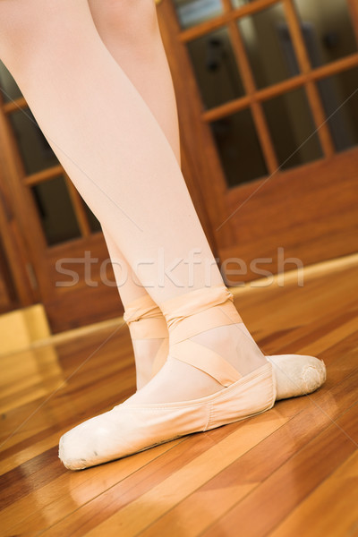 Stock photo: pointe shoes #03