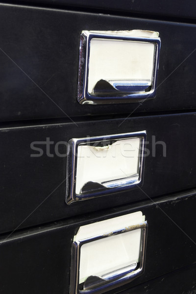 Filing cabinet #3 Stock photo © Forgiss