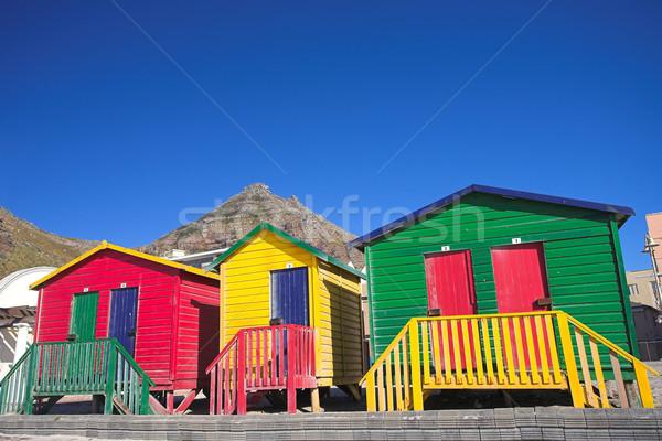 Muizenberg beach #4 Stock photo © Forgiss