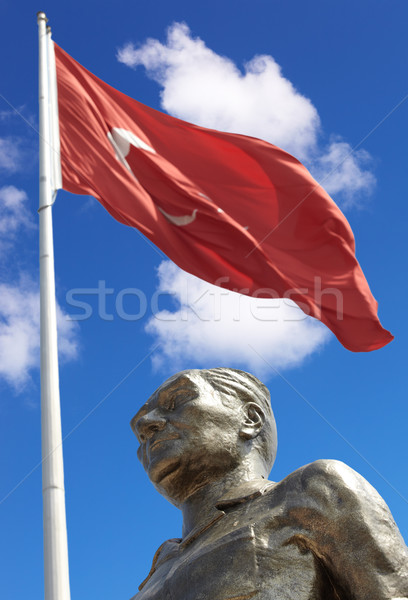Monument of Ataturk and Youth Stock photo © Forgiss