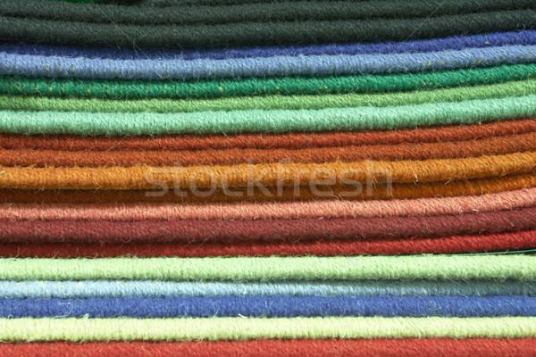 Carpet texture swatches and samples Stock photo © Forgiss