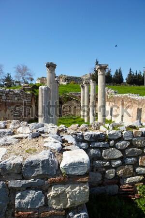 Roman Bath ruins Stock photo © Forgiss