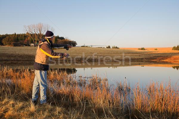 Flyfishing #22 Stock photo © Forgiss