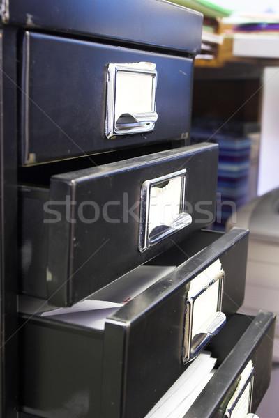 Filing cabinet #4 Stock photo © Forgiss