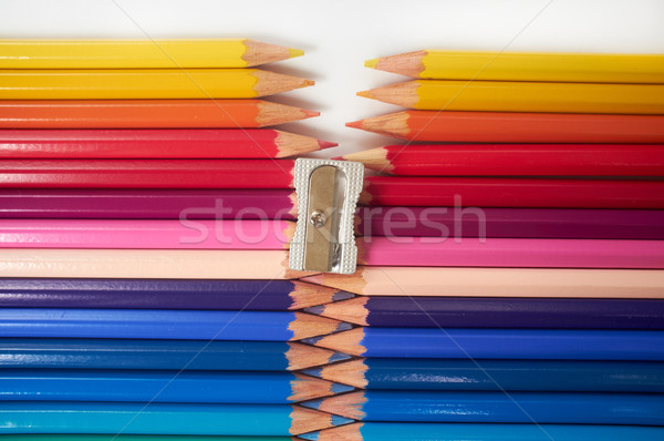 Coloured Pencils Stock photo © Forgiss