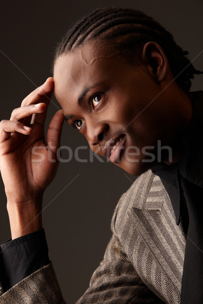 Stock photo: Black Businessman
