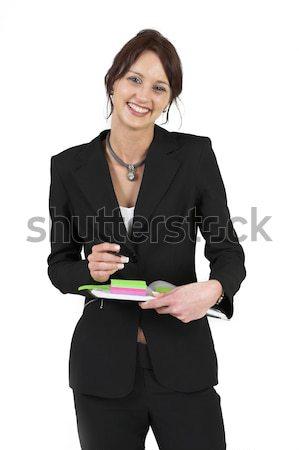 Businesslady #78 Stock photo © Forgiss