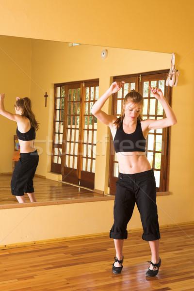Сток-фото: танцовщицы · 30 · женщины · студию · женщину