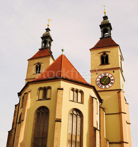 Cathedral in Regensburg Stock photo © Forgiss