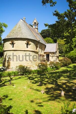 Olde Belvedere Church Stock photo © Forgiss